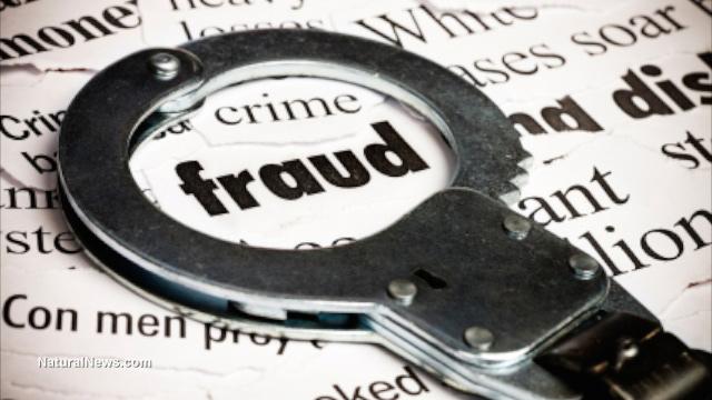 Fraud handcuffs crime arrest