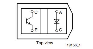 TCRT5000-pinout