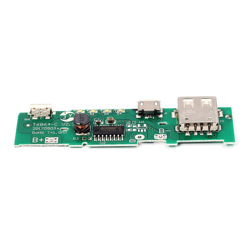 5V-1A-Power-Bank-Charger-Board-Charging-Circuit-PCB-Board-Power-Supply-Step-Up-Boost-Module2