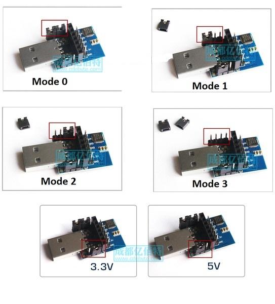 Các mode cần lưu ý với module USB-UART Lora