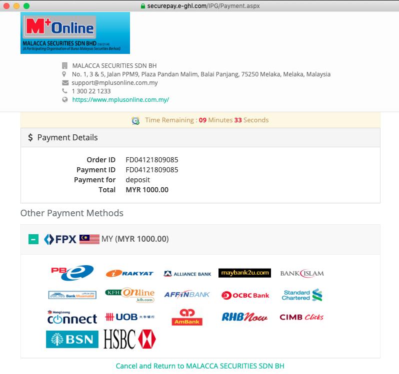 Mplus FPX Deposit