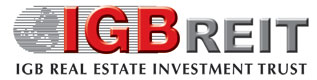 IGBREIT | IGB REAL ESTATE INVESTMENT TRUST