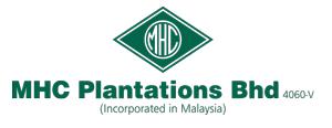 MHC | MHC PLANTATIONS BHD