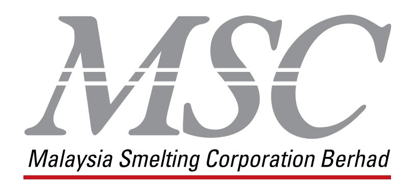 MSC | MALAYSIA SMELTING CORPORATION BERHAD