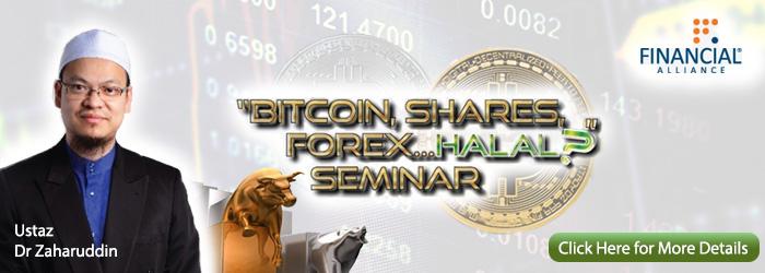 Bitcoin, Shares, Forex ... Halal? Seminar