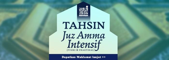 TAHSIN JUZ AMMA INTENSIF