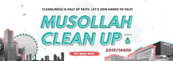 Musollah Clean Up 2019