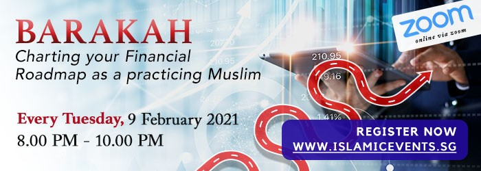Barakah: Charting your Financial Roadmap as a practicing Muslim