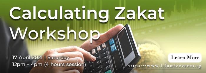Calculating Zakat Workshop
