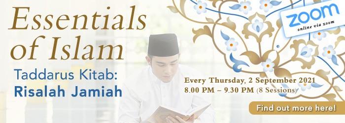 Taddarus Kitab: Essentials of Islam (September 2021)