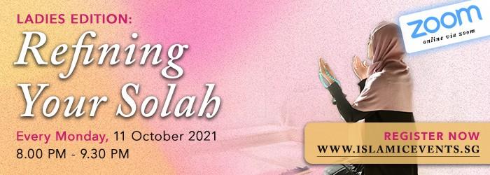 Refining your Solah