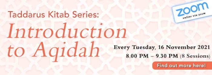 Tadarrus Kitab: Introduction to Aqidah