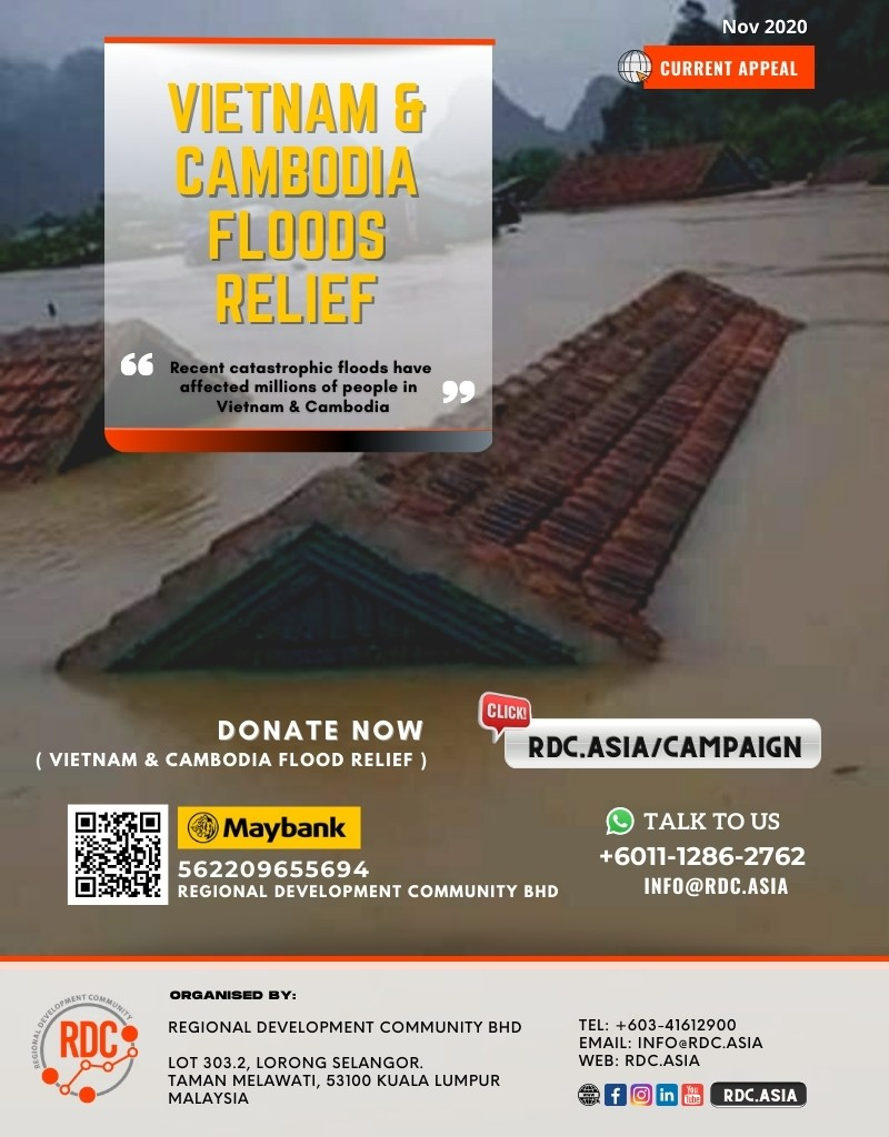 VIETNAM & CAMBODIA FLOODS RELIEF APPEAL