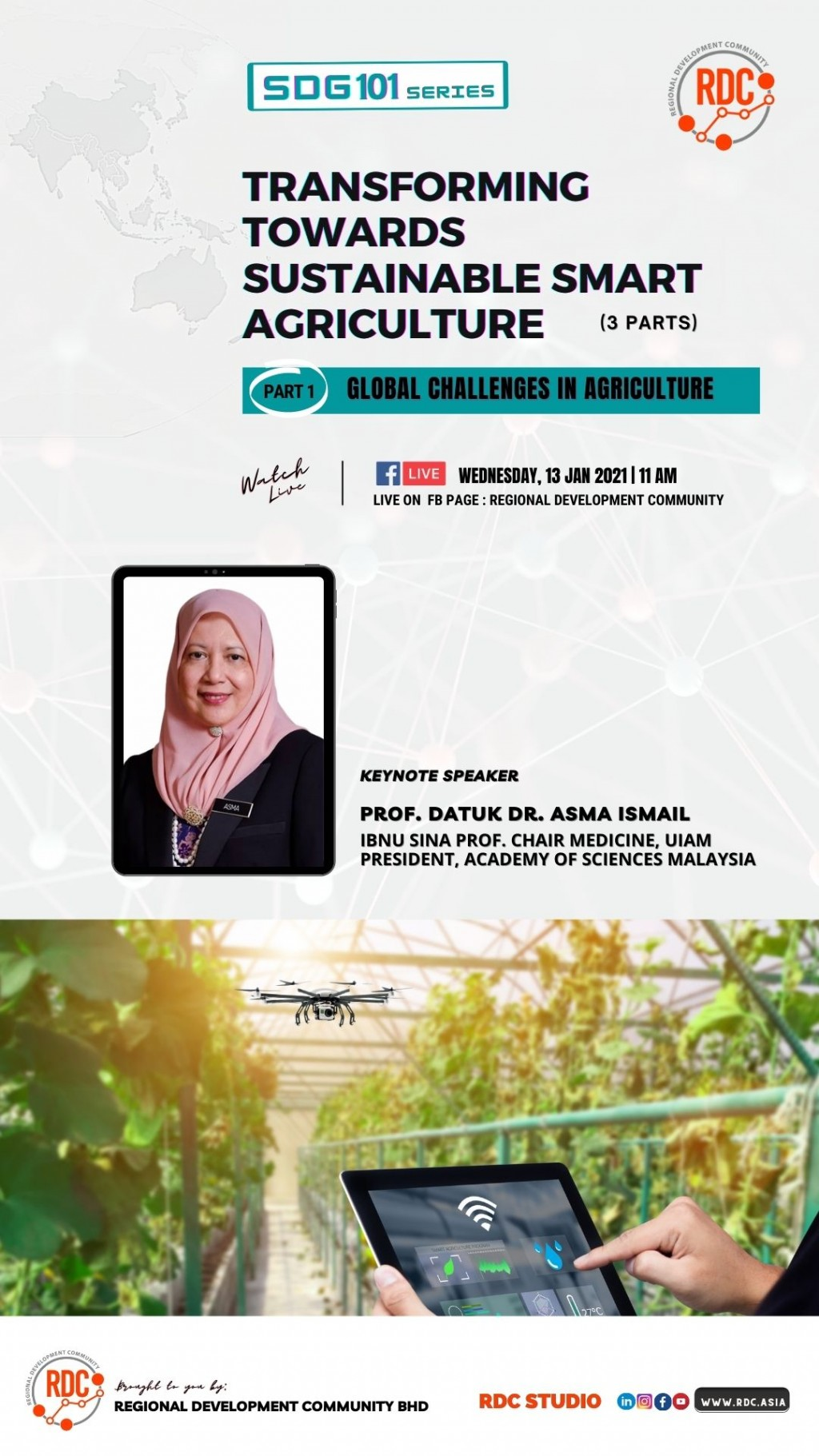 TRANSFORMING TOWARDS SUSTAINABLE SMART AGRICULTURE ( PART 1)