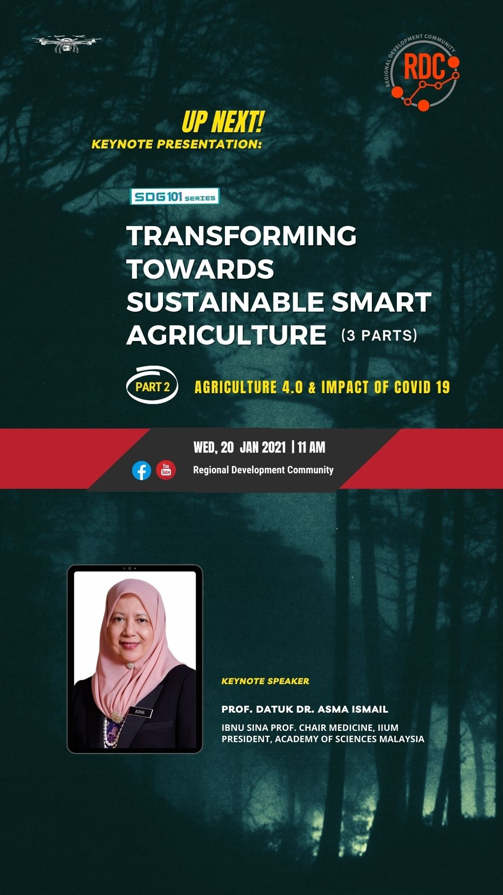 TRANSFORMING TOWARDS SUSTAINABLE SMART AGRICULTURE ( PART 2)