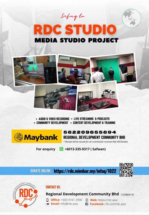 INFAQ TO RDC MEDIA STUDIO PROJECT