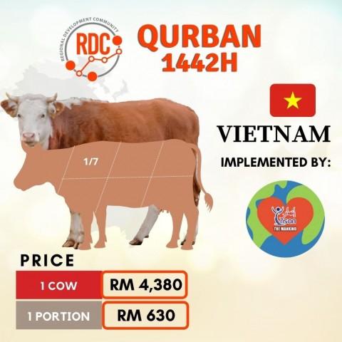 RDCB QURBAN 1442H VIETNAM – COW