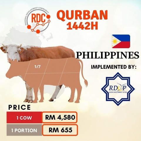 RDCB QURBAN 1442H PHILIPPINES – COW