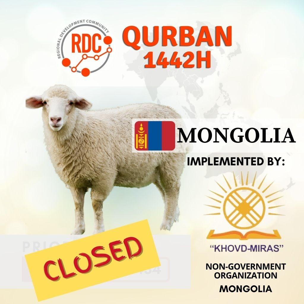 QURBAN MONGOLIA – SHEEP