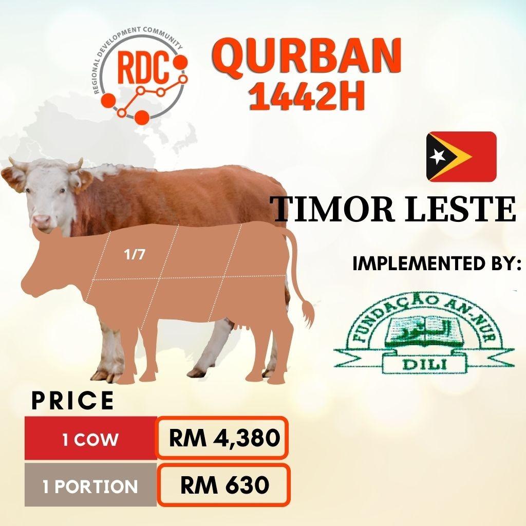 RDCB QURBAN 1442H TIMOR LESTE - COW