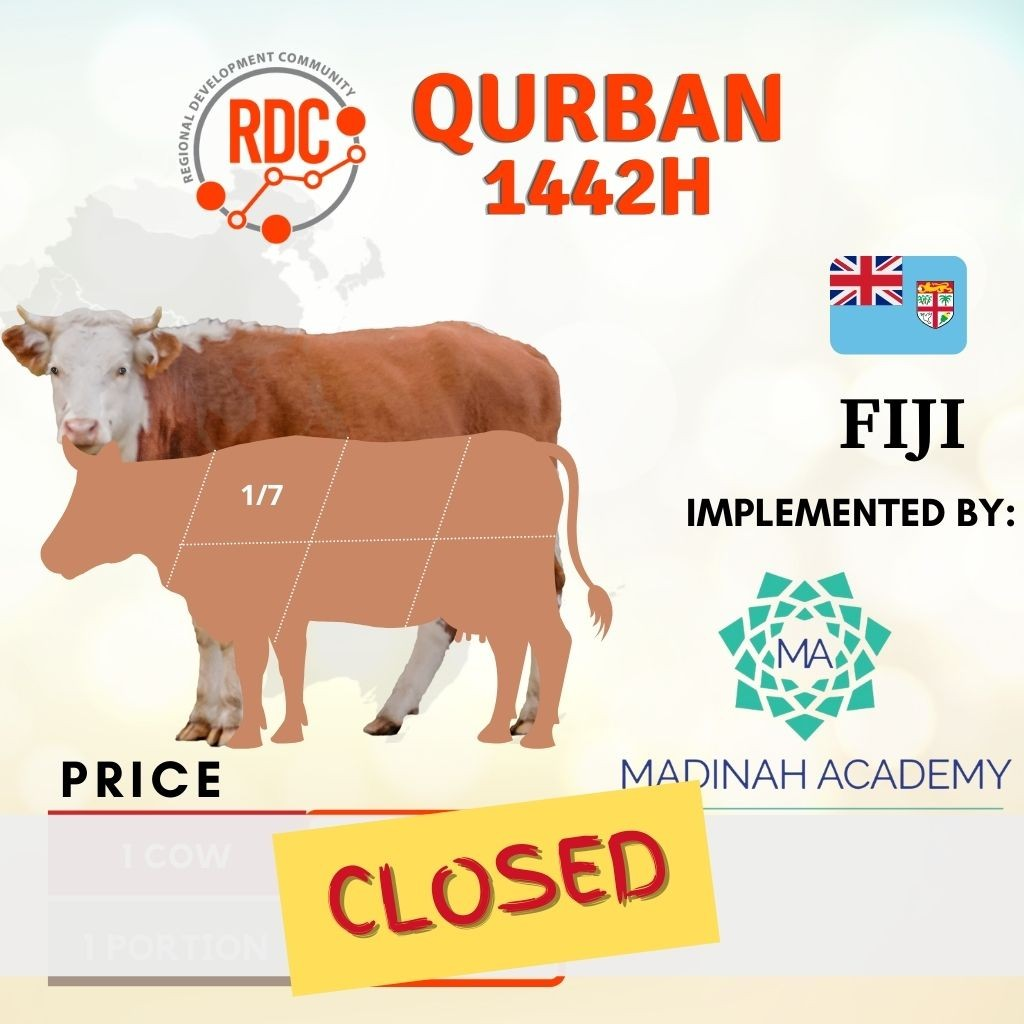 RDCB QURBAN 1442H FIJI - COW