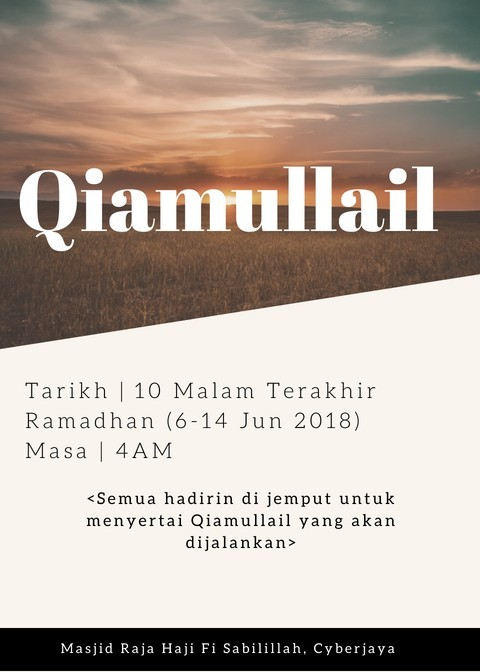 Program Qiamullail