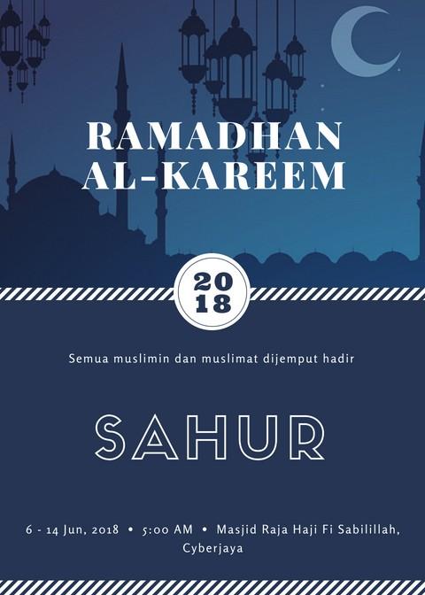 Sahur di bulan Ramadhan 2018