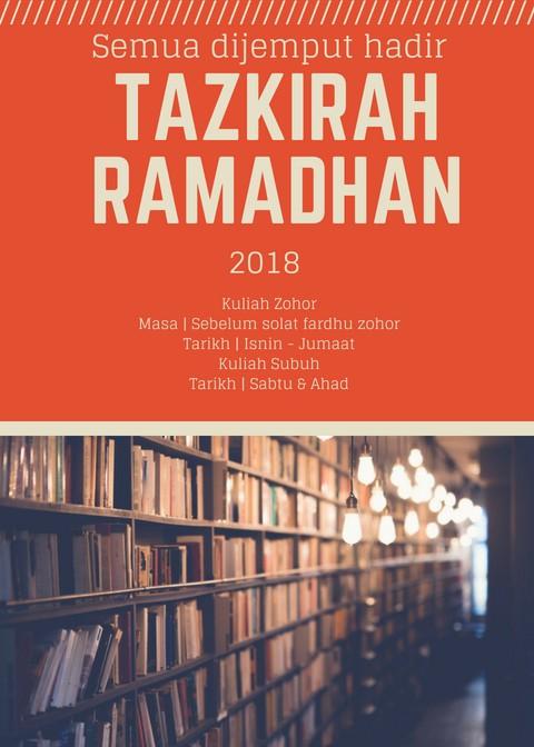 Tazkirah Ramadhan 2018