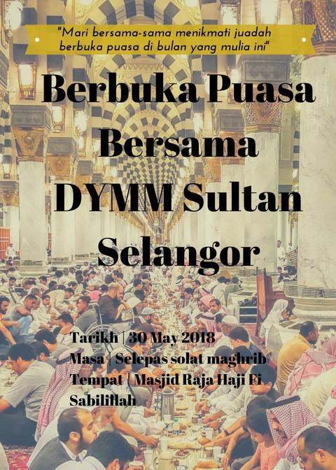 Majlis Berbuka Puasa/Moreh Bersama DYMM Sultan Selangor