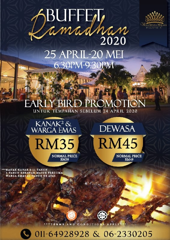 BUFFET RAMADHAN 2020 INDIVIDUAL PACKAGE (EARLY BIRD)