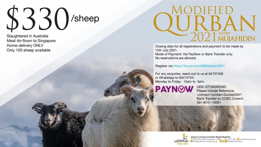 Modified Qurban 2021