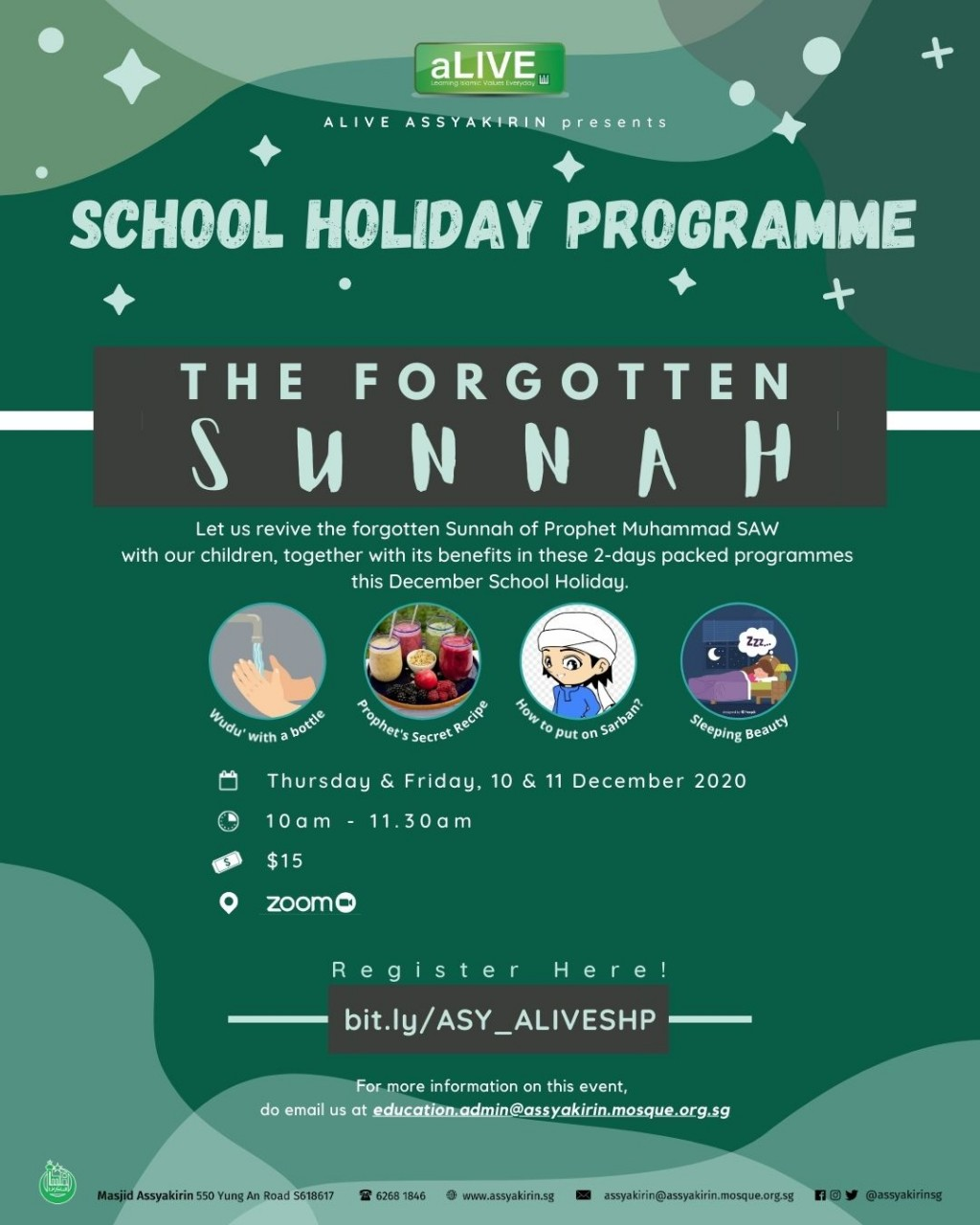 ALIVE SCHOOL HOLIDAY PROGRAMME