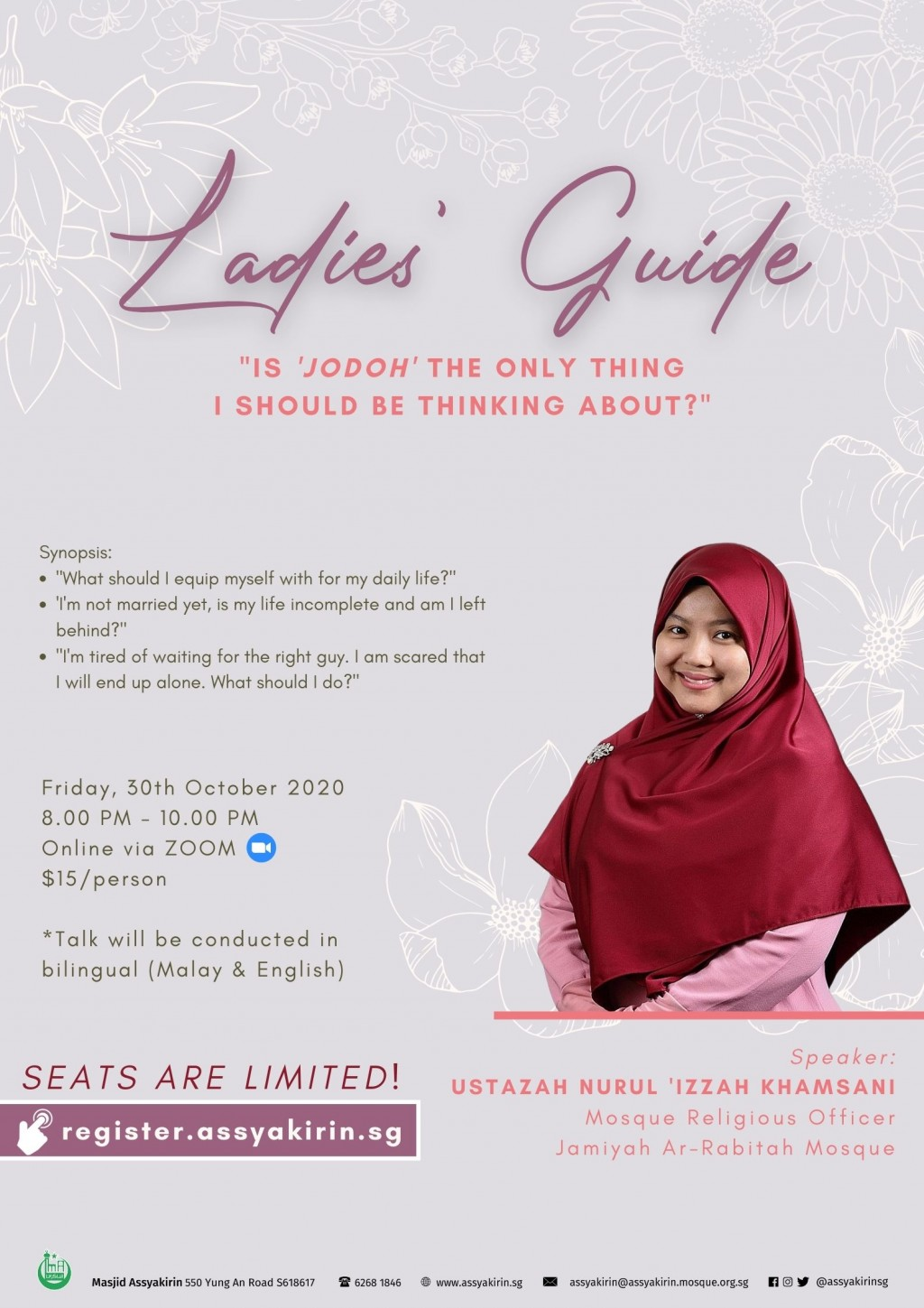 Ladies' Guide: Is 'jodoh' the only thing I should be thinking about?