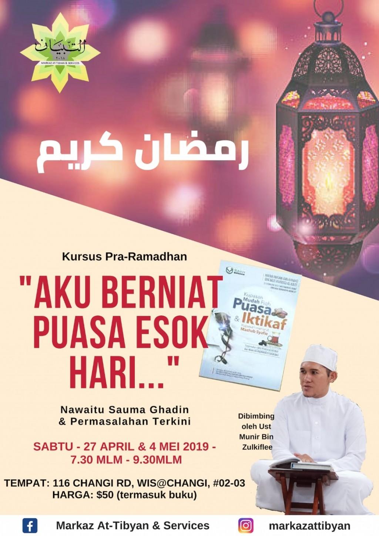 Kursus Pra-Ramadhan