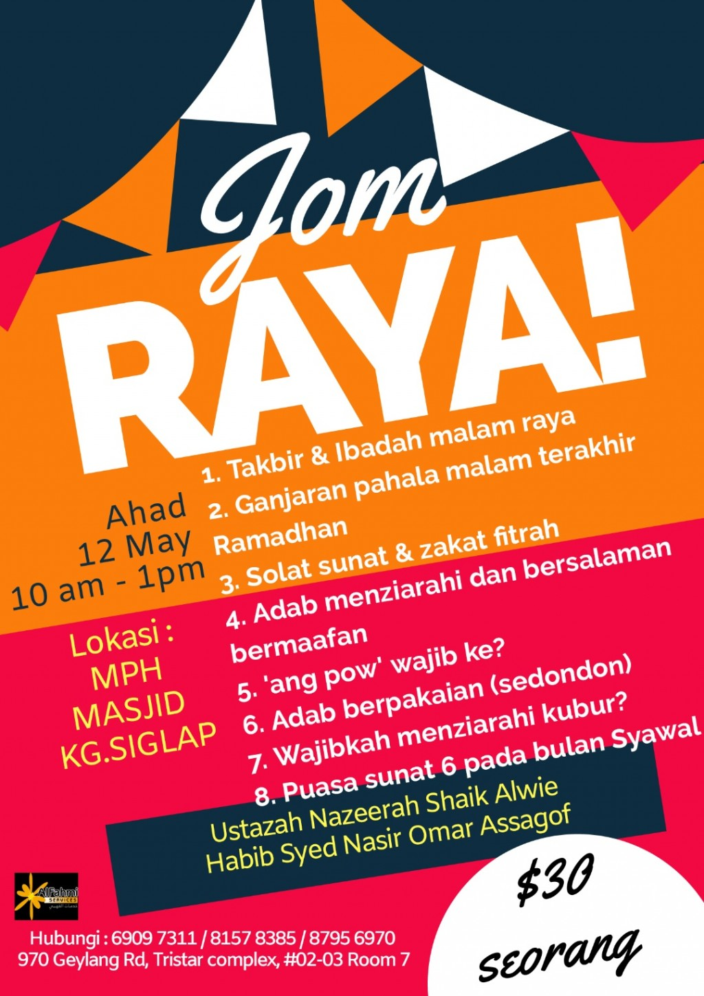 JOM RAYA! (LEFT 3 FREE SEATS )