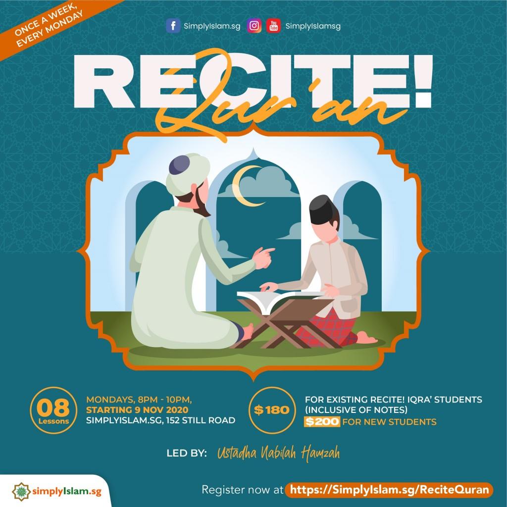 Recite! Qur'an