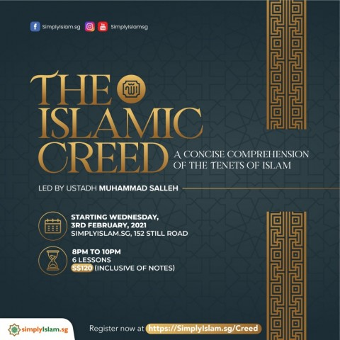 The Islamic Creed: A Concise Comprehension of the Tenets of Islam
