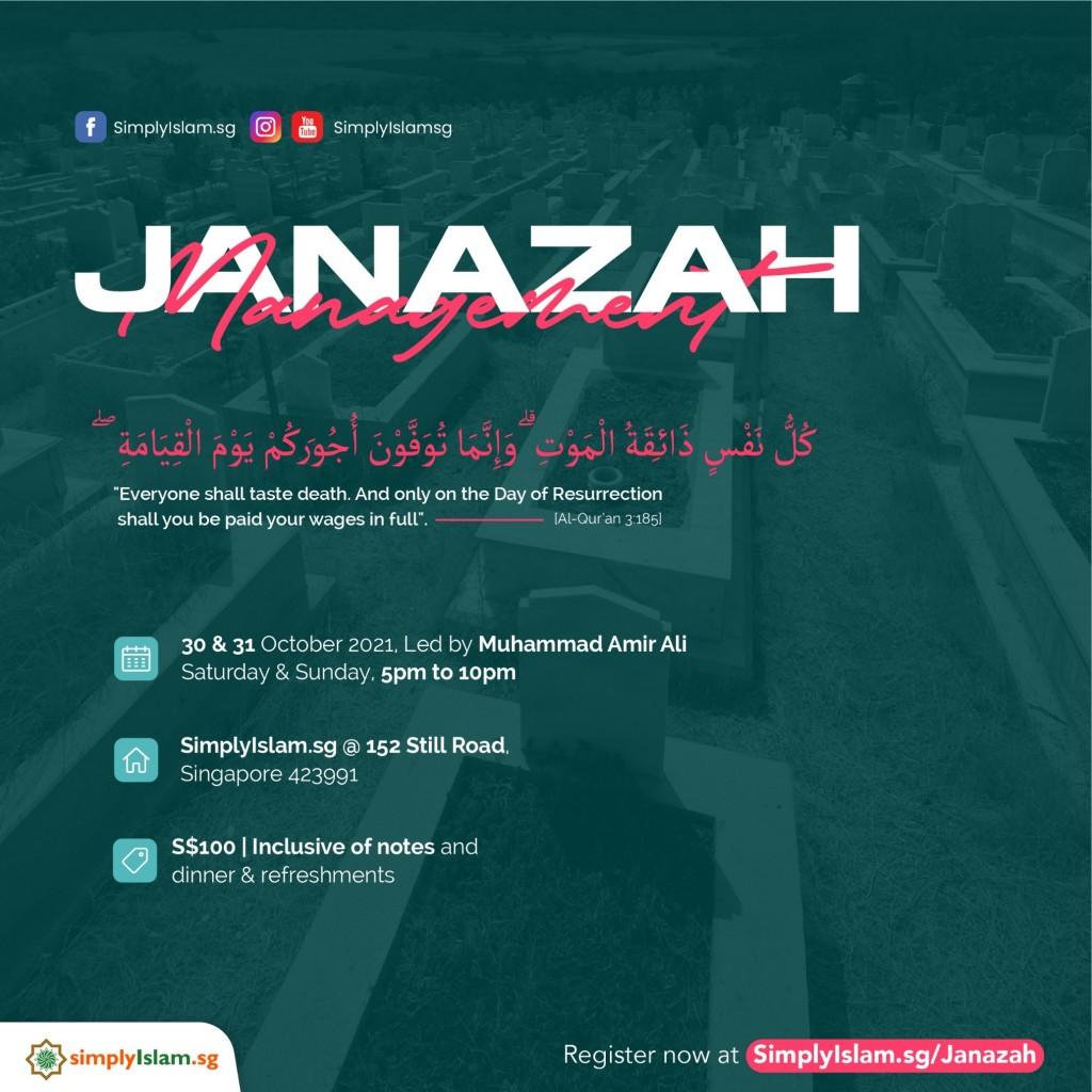 Janazah Management Course (October 2021)