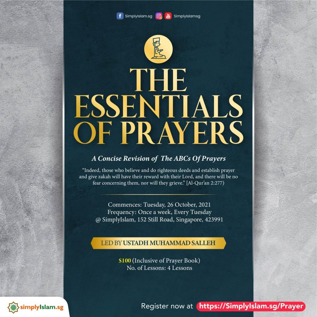 The Essentials of Prayers