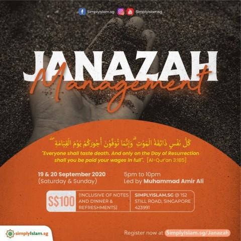Janazah Management Course @ Still Road (2-Days)
