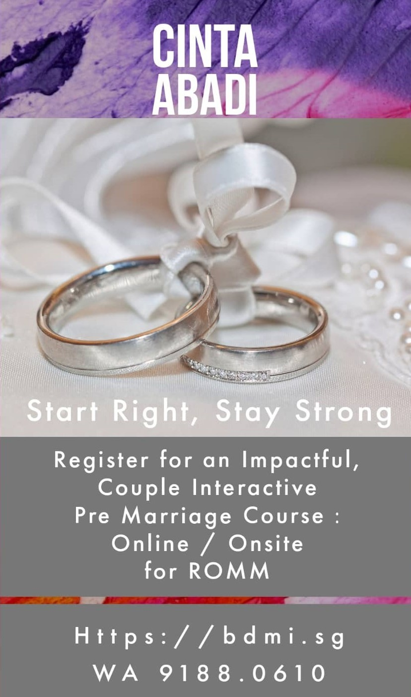 2021 ONLINE Pre Marriage Course for ROMM