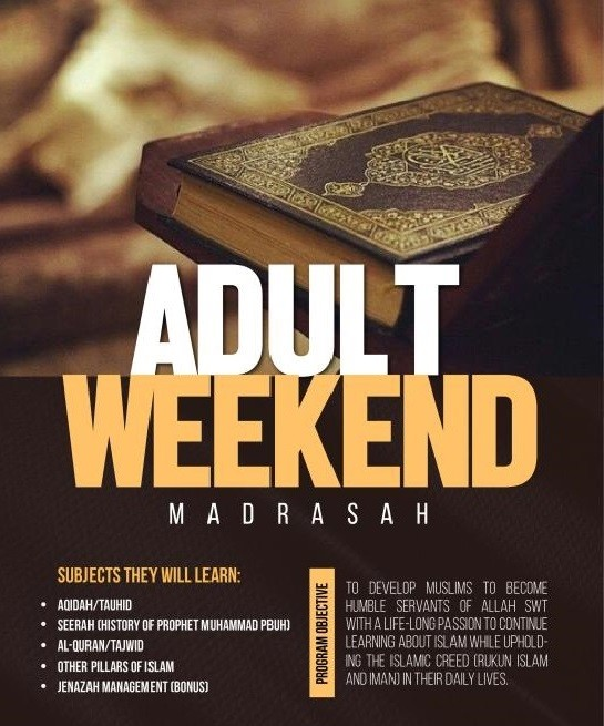 Seeking Allah's Blessing - Weekend Madrasah For Adults