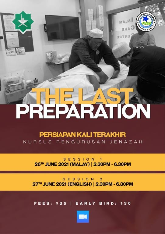 Persiapan Kali Terakhir - Kursus Pengurusan Jenazah (Khusus Muslimah)