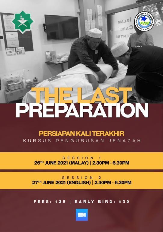 The Last Preparation: An Online Jenazah Management Couse For Ladies