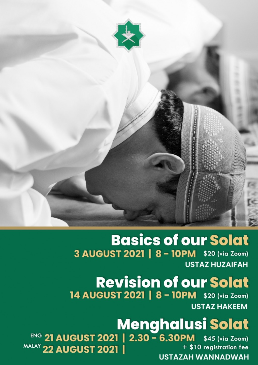 Let's Learn To Solat - A Basic to Advance Solat Guidance For The Whole Family