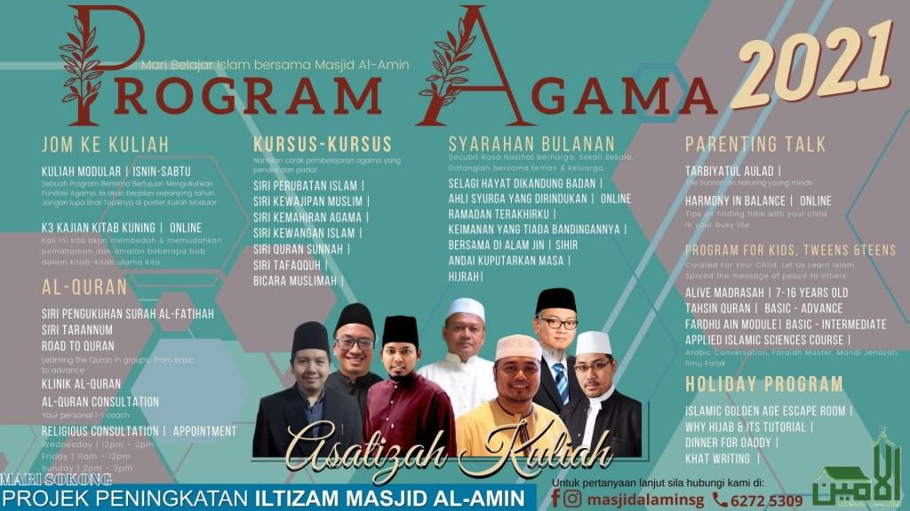 Program Agama 2021