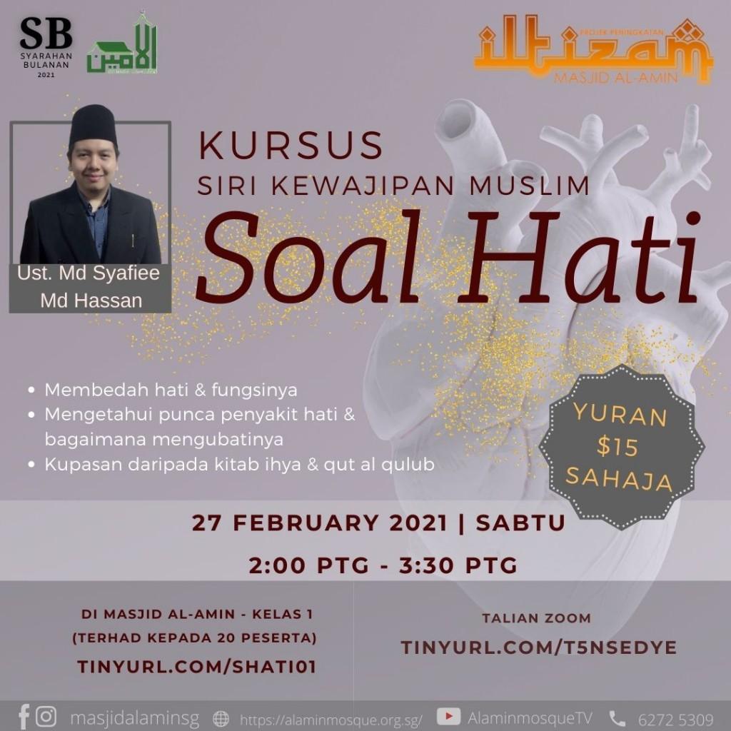 K: Siri Kewajipan Muslim - Soal Hati