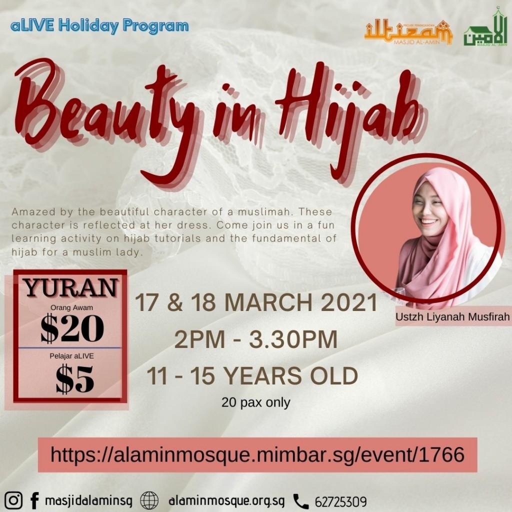Holiday Program: Beauty in Hijab