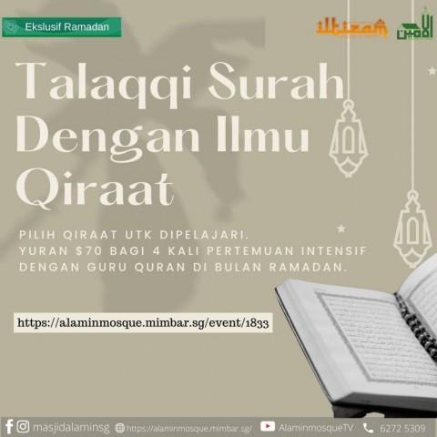 Talaqqi Surah Dengan Ilmu Qiraat