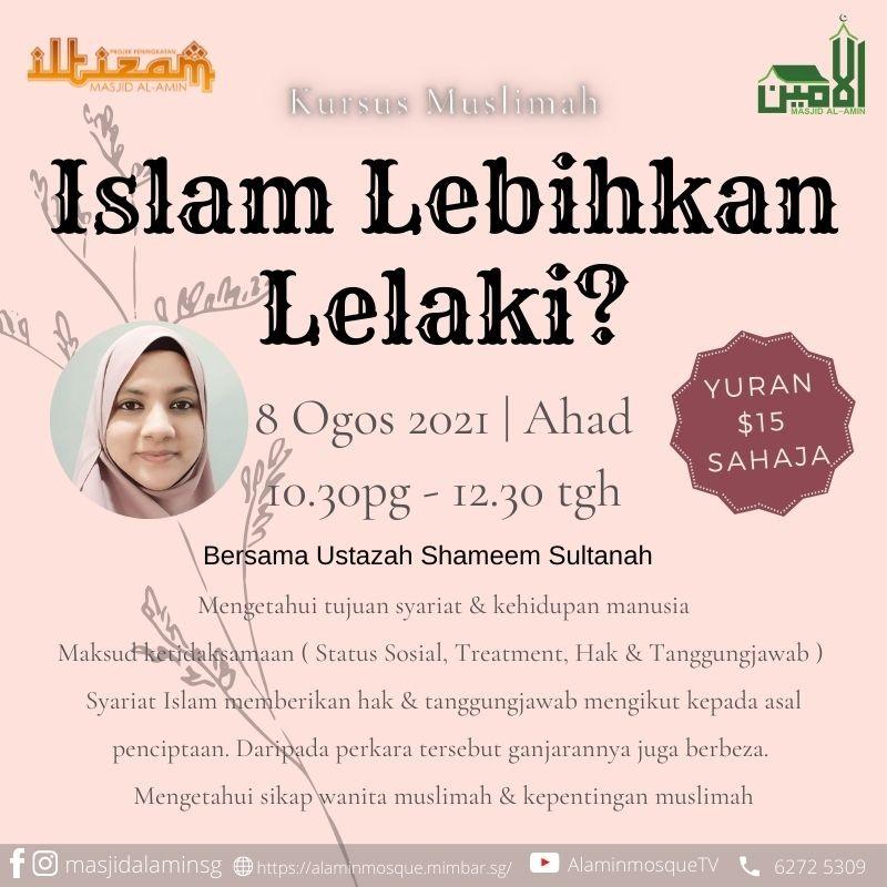 Islam Lebihkan Lelaki?
